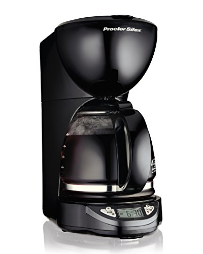 Proctor Silex 12-Cup Coffee Maker, Programmable (49758A)