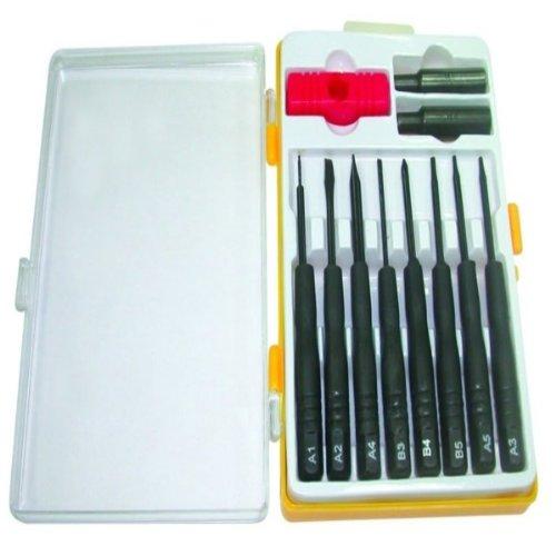 Qtron Toolmed Cellular Repair Tool Kit - Combo Pack - Retail Packaging - Black