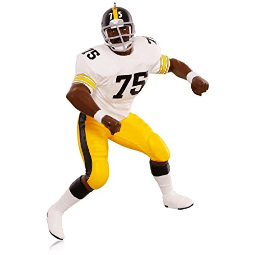 "Hallmark QXI2699 NFL Pittsburgh Steelers Joe ""Mean Joe"" Greene Ornament from Hallmark"