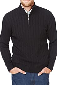 Blue Harbour Pure Cotton Cable Knit Jumper [T30-5154B-S]