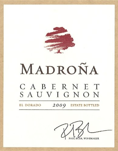 2009 Madrona Cabernet Sauvignon Signature Collection El Dorado 750 Ml