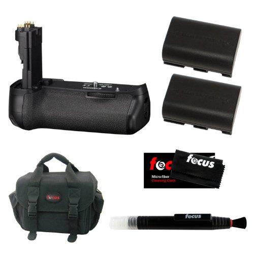 Canon Bg-E9 Battery Grip For The Canon Eos-60D + Accessory Kit