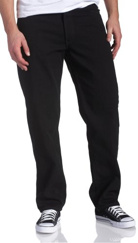 Levi's Men's 550 Relaxed Fit Jean - Big & Tall, Black, 44x30