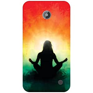 Nokia Lumia 630 Back Cover - Pray Designer Cases