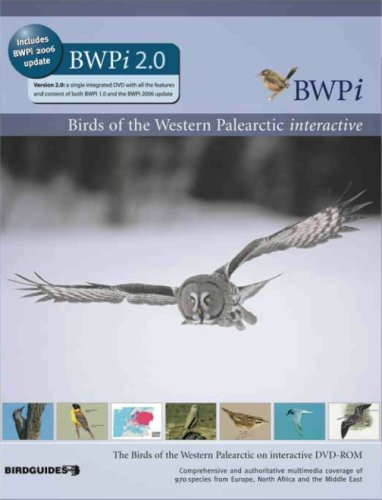 DVD Birds of Western Palearctic (PC/Mac)