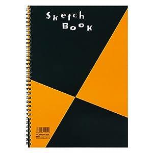 マルマン スケッチブック 図案印刷シリーズ A4(287×202mm) 並口画用紙 24枚 S131