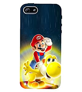 Fuson 3D Designer Mobile Back Case Cover For Apple iPHONE 5 / Apple iPHONE 5s
