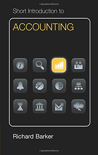 Short Introduction to Accounting Euro Edition Paperback (Cambridge Short Introductions to Management)