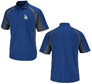 Los Angeles Dodgers Season Pass Royal Blue Synthetic Polo by VF