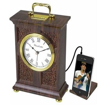 Vintage Style Clock with AM/FM Digital Radio & MP3 Line-in RC-400