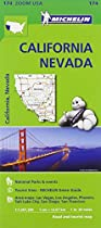 California - N�vada Zoom Map 174 (Michelin Zoom Maps)