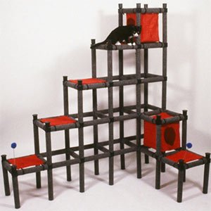 Stairway to Cat Heaven - Modular Cat Playground