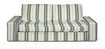 FRANC-TEXTIL 703-141-17 Kivik 3-Plazas Sofá funda, sofá Kivik 3-plazas, Mirella, azul/beige