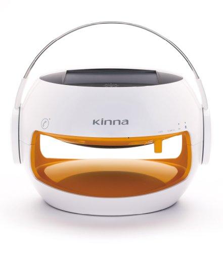 Kinna Portable Bluetooth Speaker For Lady And Girl,Cute,Solar Powered,Waterproof Ip44,10Hours Battery(Orange).By Gemini Doctor