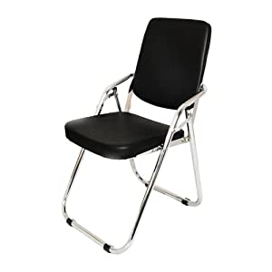 Yi Hai Folding Chair High Quality Thick Padded,new Style,metal,black,set of One