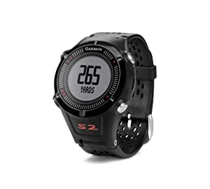 Garmin Approach S2 GPS Golf Watch with Worldwide Courses (Black) by Garmin