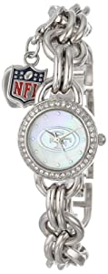 Game Time Ladies NFL-CHM-SF Charm NFL Series San Francisco 49ers 3-Hand Analog Watch by Game Time