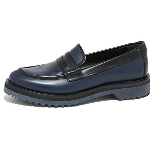 1824O mocassino CAR SHOE blu/nero scarpe donna loafer shoes women [36]