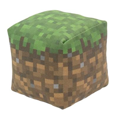 Minecraft Dirt Block Plush Toy For Babies And Toddlers Medium from Happy Toy Machine