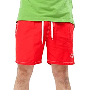 Janker Men's Solid Color Casual Youth Leisure Swimwear Beach Surf