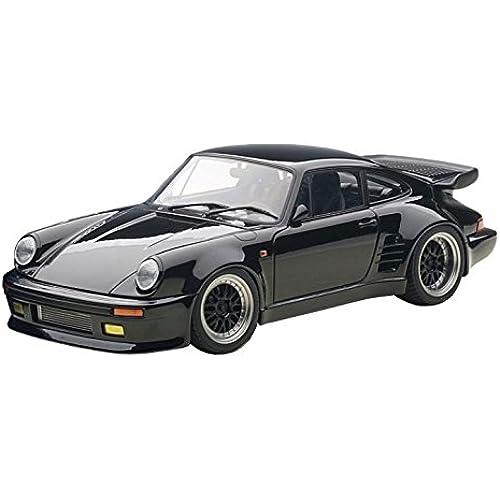 AUTOart 1/18 포르쉐 911 (930) 터보 완간 미드 나이트 블랙 버드 완제품