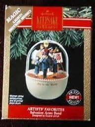 Artists Favorites Salvation Army Band Hallmark Keepsake Ornament by Hallmark