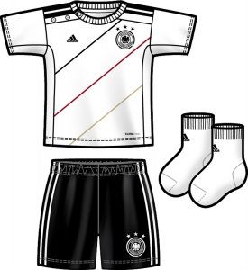 adidas DFB Home Baby Kit (Größe:
