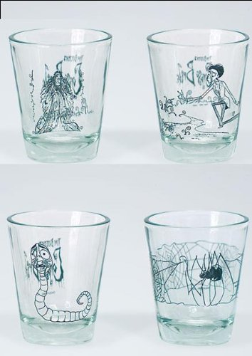Buy Low Price McFarlane Corpse Bride Shot Glasses Set Of 4 Figure (B001JY8FYO)