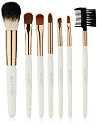 SHANY Cosmetics Urban Gal Collection Brush Kit (7 Piece Pony Bristles Mini Travel Brushes) 13 Ounce