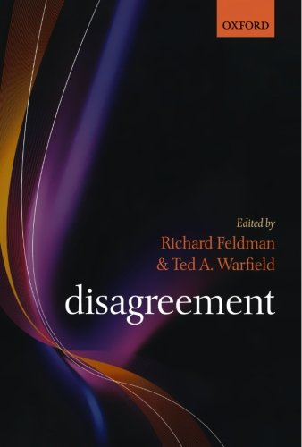 Disagreement: Richard Feldman, Ted A. Warfield: 9780199226085: Amazon.com: Books