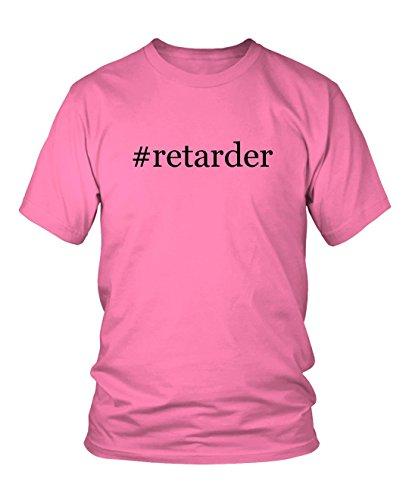 retarder-hashtag-mens-adult-short-sleeve-t-shirt-pink-large