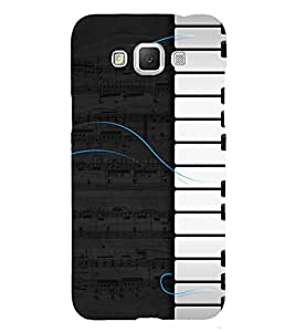 Piano Design 3D Hard Polycarbonate Designer Back Case Cover for Samsung Galaxy Grand 3 G720 :: Samsung Galaxy Grand Max G720