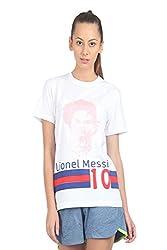 HoG Football Messi Cotton Sports T shirt