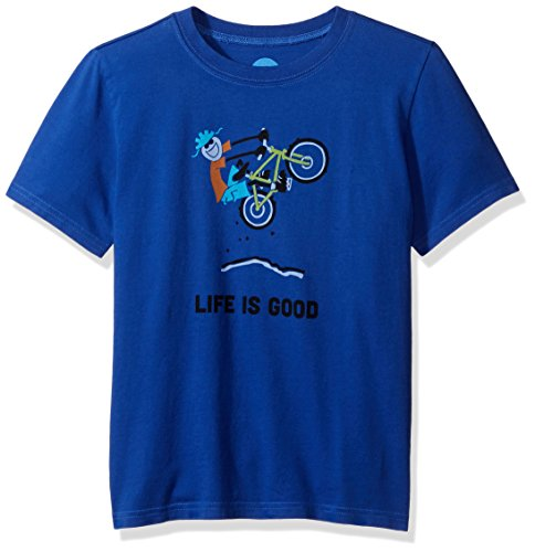 Life is good Boy's Elemental Air Tee, Cobalt Blue, Large (Life Is Good Kids compare prices)