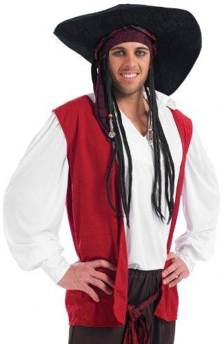 [Pirate Rogue Fancy Dress Costume] (Rogue Costume Uk)