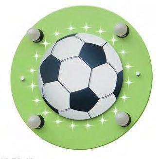 Deckenleuchte Fußball grün 20 LED Elobra