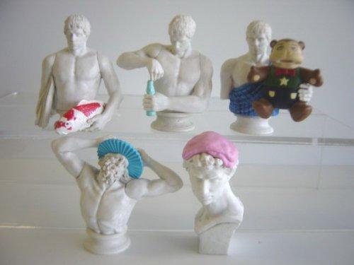 テルマエ・ロマエ 彫刻像 全5種 ラムネ 錦鯉 てぬぐい お風呂全5種 1 シャンプーハット 2 手ぬぐい 3 300万