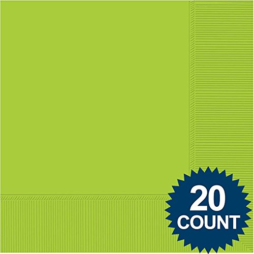 Lime 3-Ply Luncheon Napkins, 20 ct.