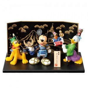 Doll in May of Tokyo Disney Resort Limited Mickey Pluto Donald Duck