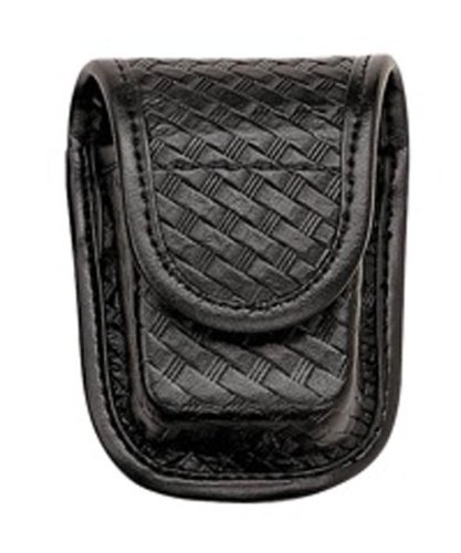 Bianchi Accumold Elite Hidden Snap 7915 Pager or Glove Pouch (Basketweave Black)