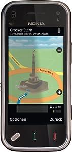 Nokia N97 mini Smartphone (UMTS, WLAN, GPS, 5 MP, Ovi Karten, QWERTZ-Tastatur) cherry black