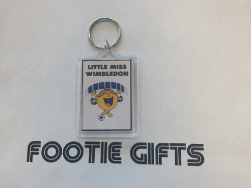A.F.C Wimbledon - Little Miss Football Keyring