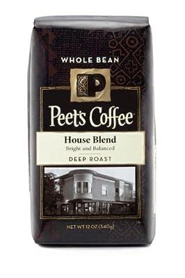 Peet's Coffee House Blend Whole Bean, 12 oz