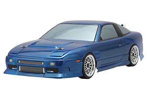 ドリフトカー用 NISSAN 180SX ストリートバージョン ボディ (マスキング&ライトデカル付) SD-180BS