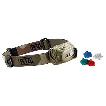Petzl-Lampe Frontale Power Led Petzl Tactikka XP Camouflage - Volet Grand Angle + Piles