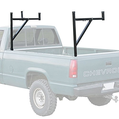 Pickup Truck Ladder Rack with Removable Support Arms (Removable Truck Bed Rack compare prices)