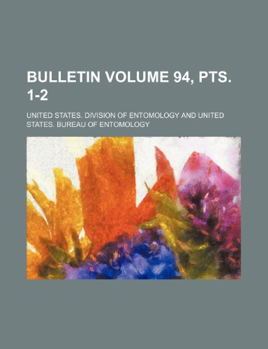 Bulletin Volume 94, pts. 1-2
