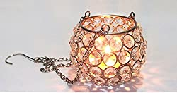 Simcs Handicrafts Tea Light Candle Holder(Crystal)