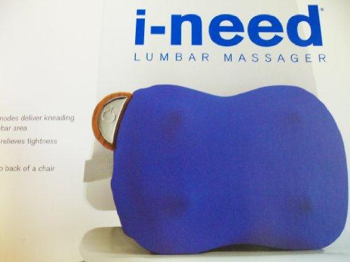 Brookstone iNeed Lumbar Massage Cushion - Electric Back Massager