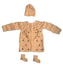 Durga Unne Ghar Kids Sweater (Durga Unne Ghar-26_Beige _0-6 months )